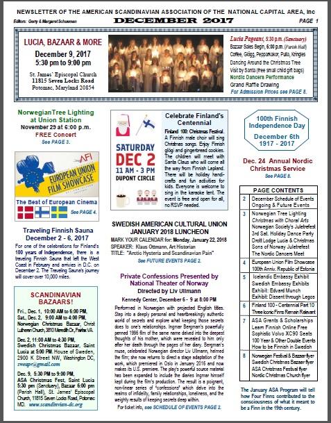 ASA Newsletter