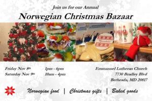Norwegian Society Xmas Bazaar 2019
